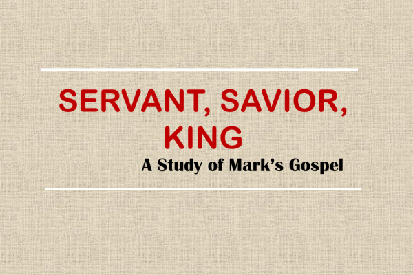"""""""Why Is God's Servant Riding On A Donkey?"""" Mark 11:1-11 (4/5/20)"""